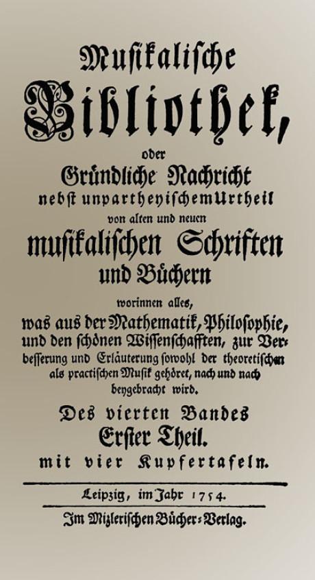der nekrolog auf johann sebastian bach war im innenteil fr uns ist es eine zeitreise rund 260 jahre zurck in die vergangenheit als deutsch noch