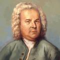 Die Kopie eine berühmten Bach-Bildes.