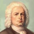 Bach, nach einem Palmin-Bildchen nachempfunden